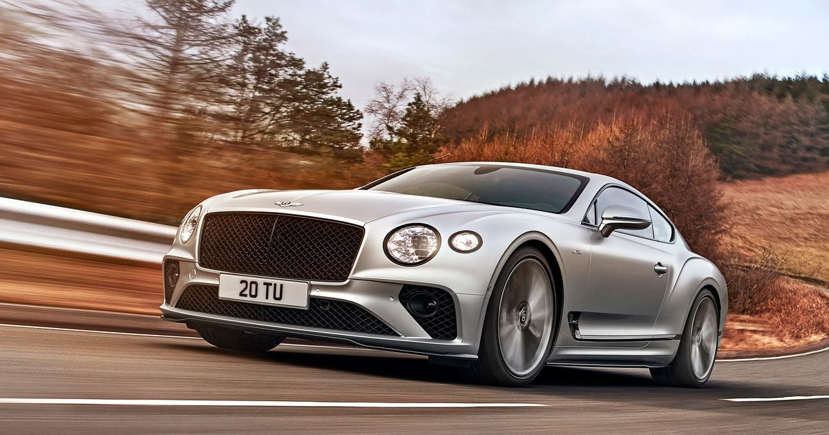 The 650bhp Bentley Continental GT Speed Will Do 208mph
