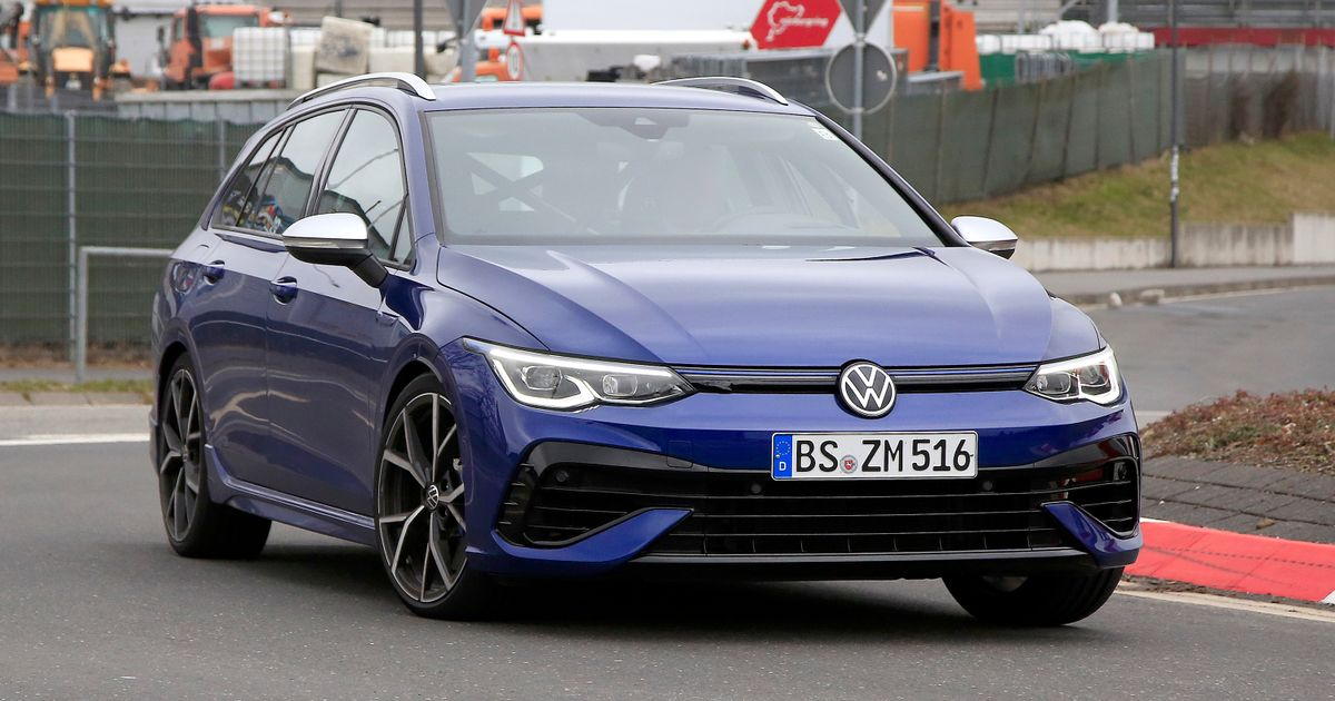 New VW Golf R Estate Cunningly Disguised With… Three Small Pieces Of Tape