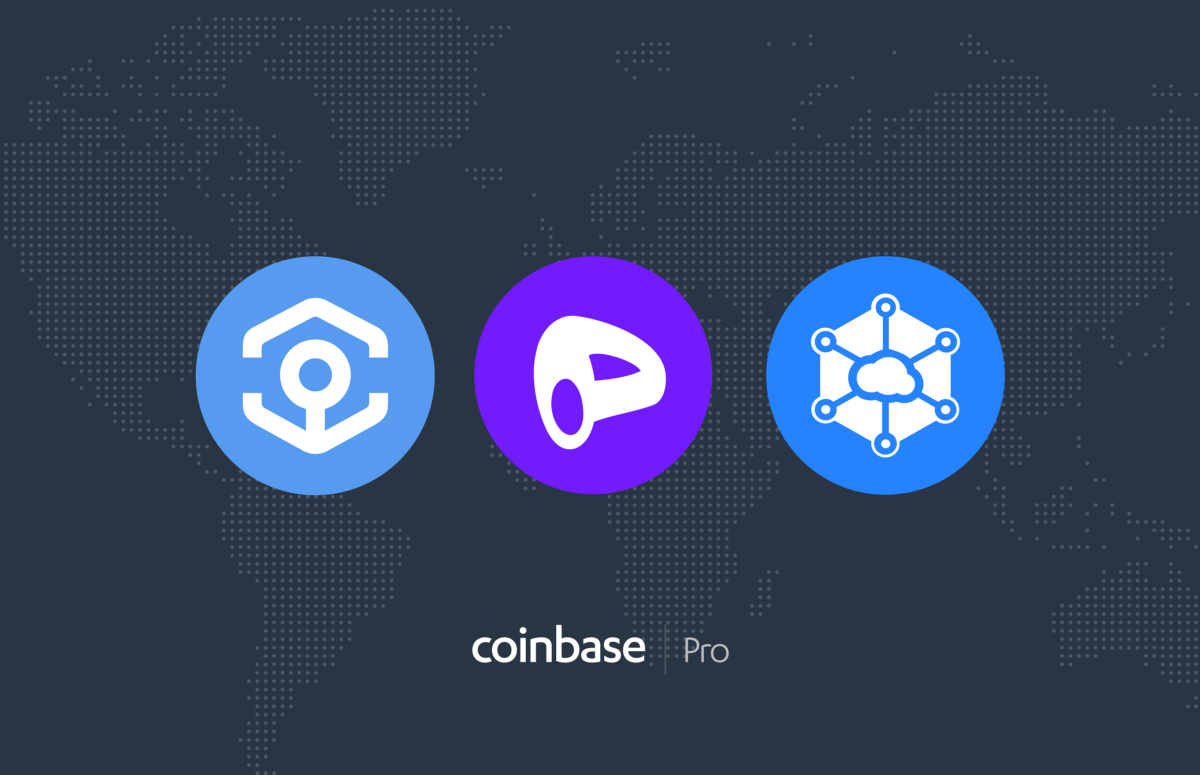 Ankr (ANKR) Curve DAO Token (CRV) and Storj (STORJ) are launching on Coinbase Pro
