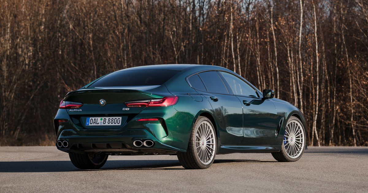 The 201mph Alpina B8 Gran Coupe Is Here And Yes You Want One