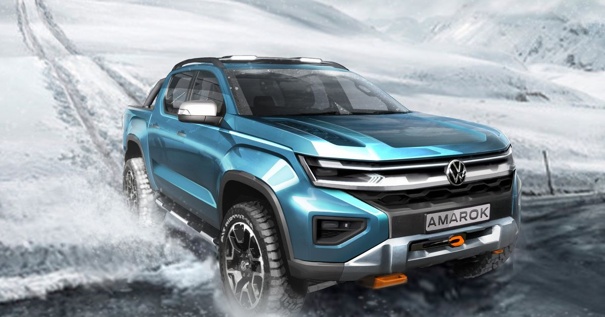 The New VW Amarok Is Going To Be Really Swole For Some Reason