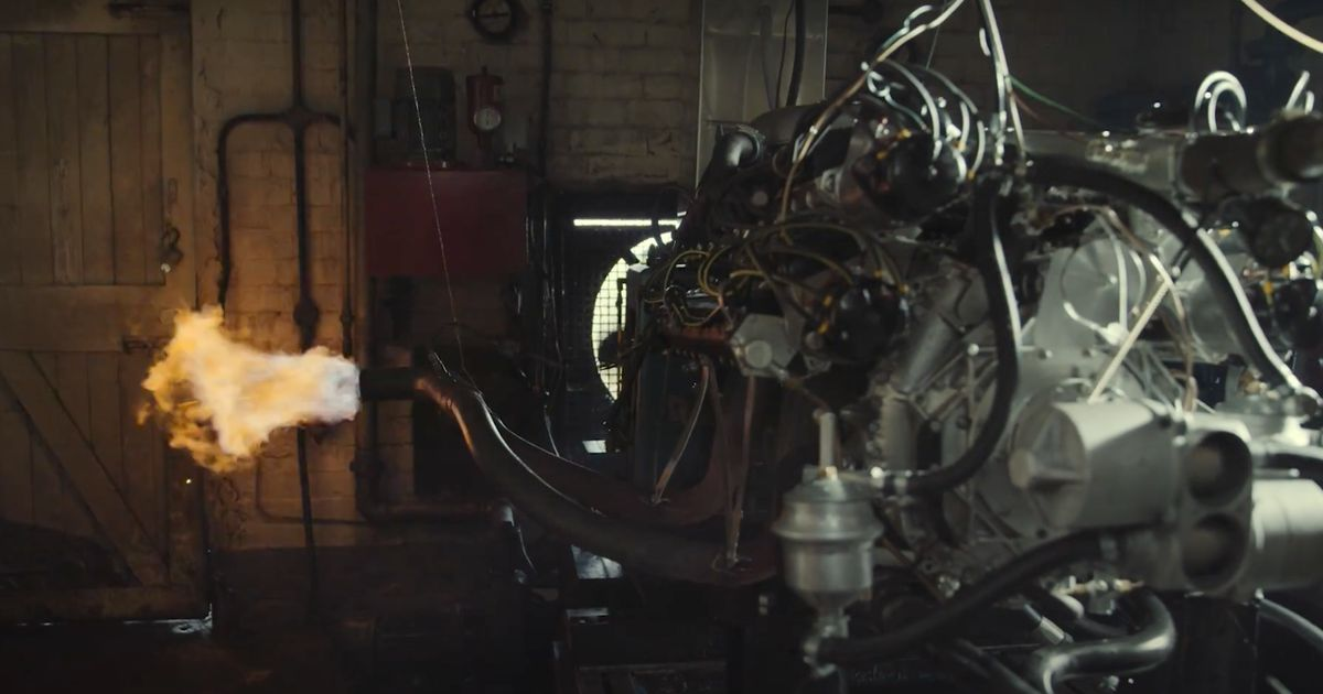 Watch And Listen To A Rebuilt 1.5 V16 Being Fired Up For The First Time