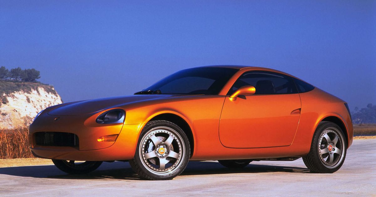 That Time When A Near-Bankrupt Nissan Made A 'Z' Concept With A 200SX Engine