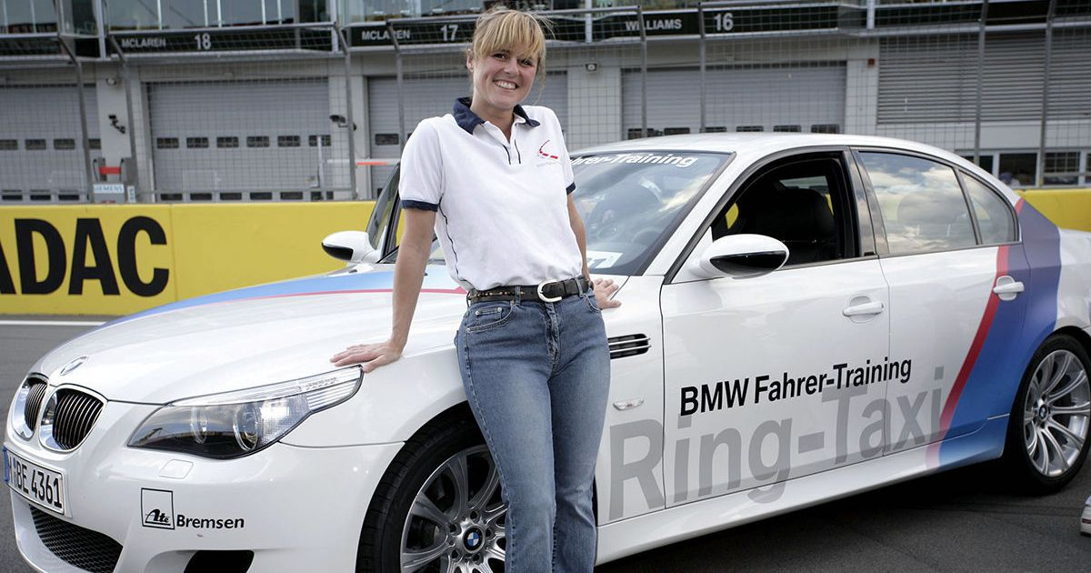 There's A Petition To Name A Nurburgring Corner After Sabine Schmitz