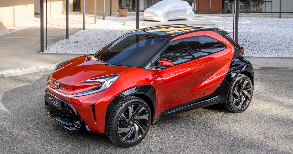 The Next Toyota Aygo Will Be A Crossover, Judging By This 'X Prologue' Concept