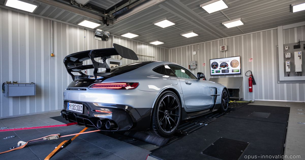 This 1111hp Mercedes-AMG GT Black Series Is Made For Nurburgring Glory