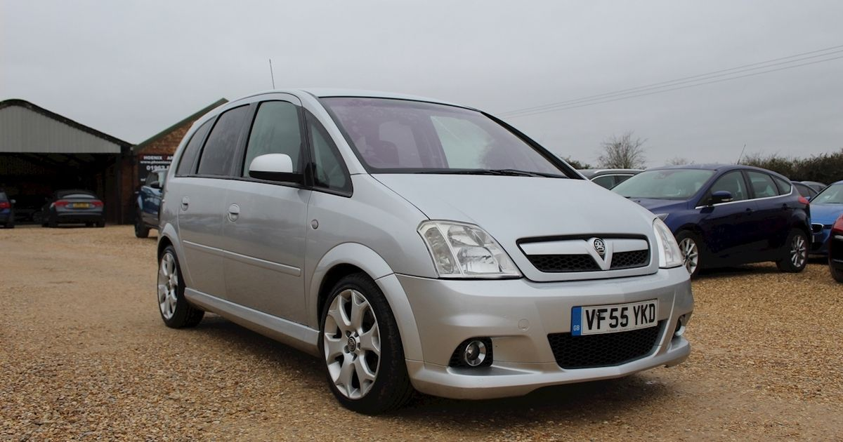 The Vauxhall Meriva VXR Is A Fast MPV That Time Forgot