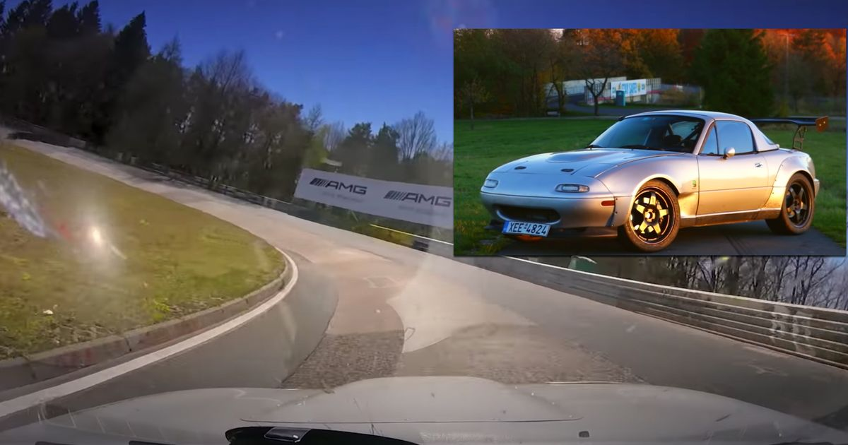V6-Engined Mazda MX-5 Becomes 'Ring's Fastest MX-5 With 7:33 Lap