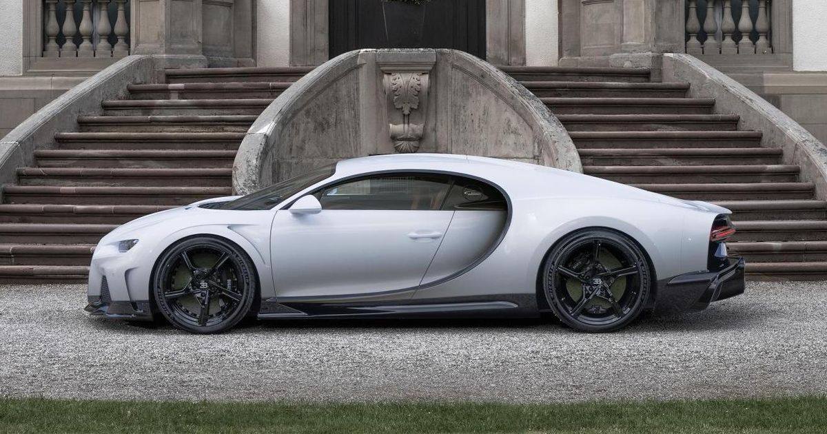 Bugatti Chiron Super Sport Returns With 273mph Top Speed And £2.7m Price Tag
