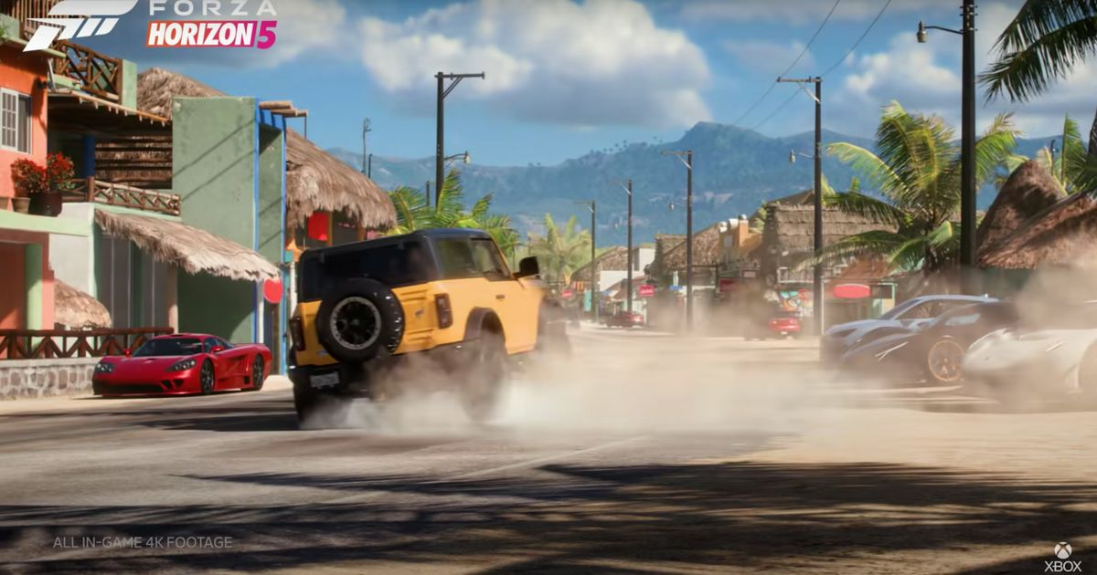 Official: Forza Horizon 5 Is In Mexico, Released This November