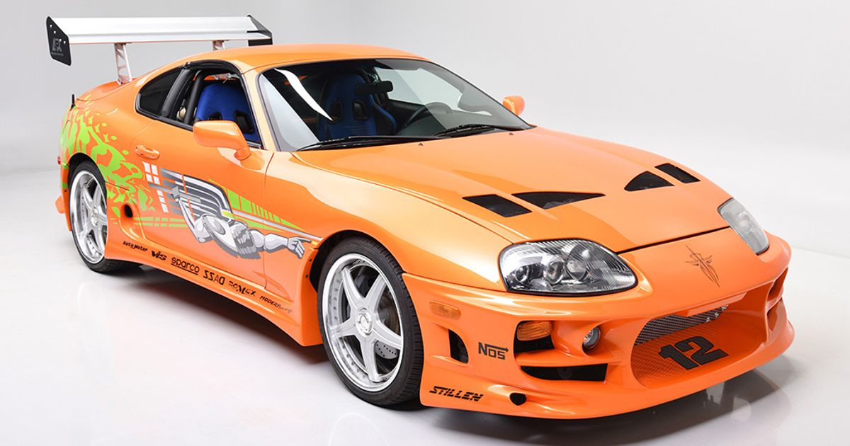 Auto Toyota Supra That Starred In Two Fast & Furious Films Up For Auction