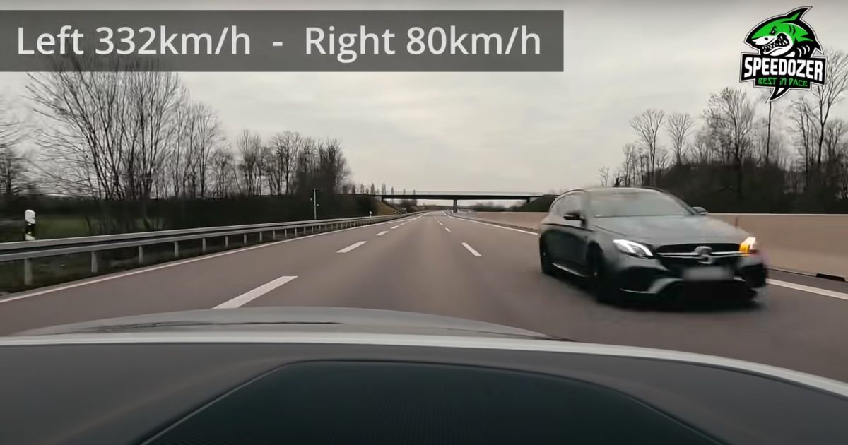 Watch A Mercedes E63 S Estate Fly By At 206mph On The Autobahn