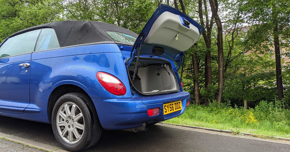 Why The Chrysler PT Cruiser Convertible Is The Worst Car I've Ever Driven