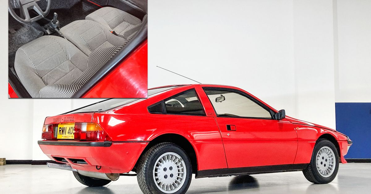 The Matra Murena Is A Three-Seat, Mid-Engined Sports Car The World Forgot