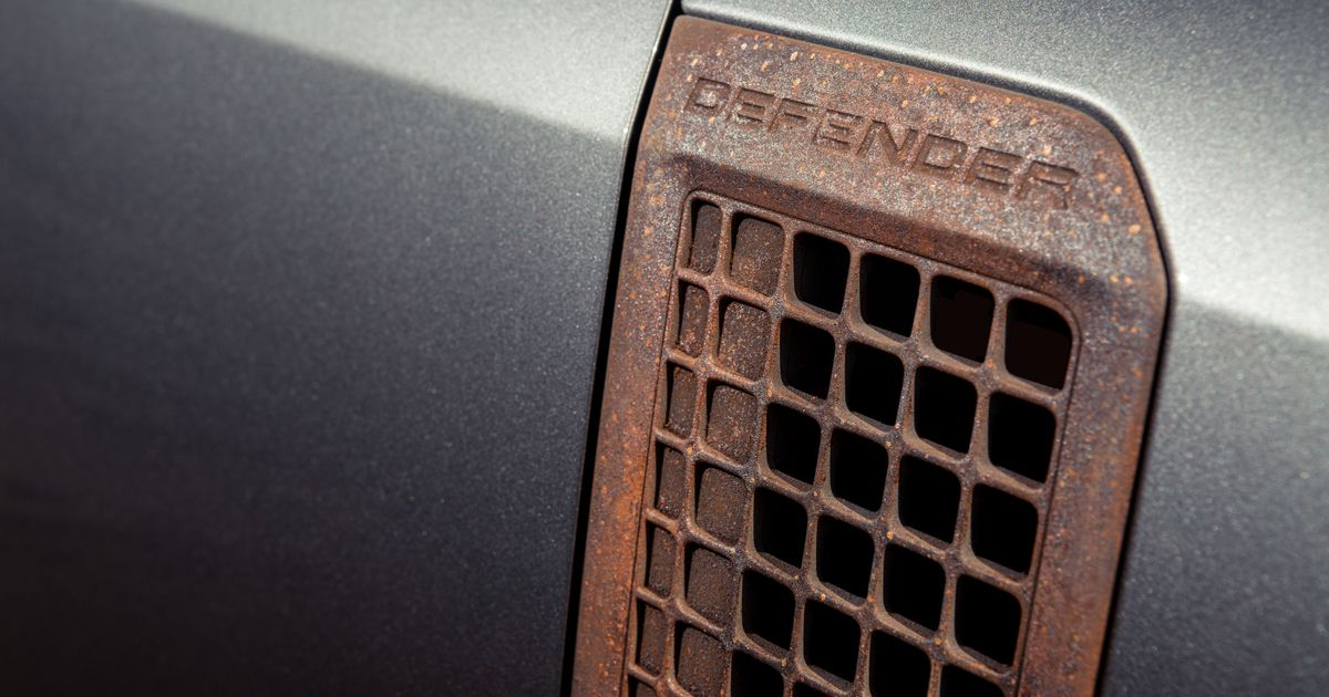 A Company Is Offering Pre-Rusted Car Trim Pieces