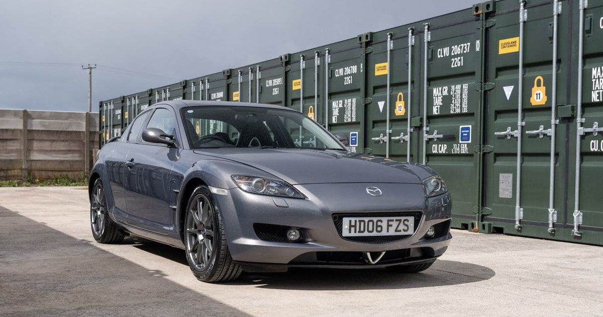 The Mazda RX-8 PZ Is An Affordable Rotary Special With Prodrive Fettling