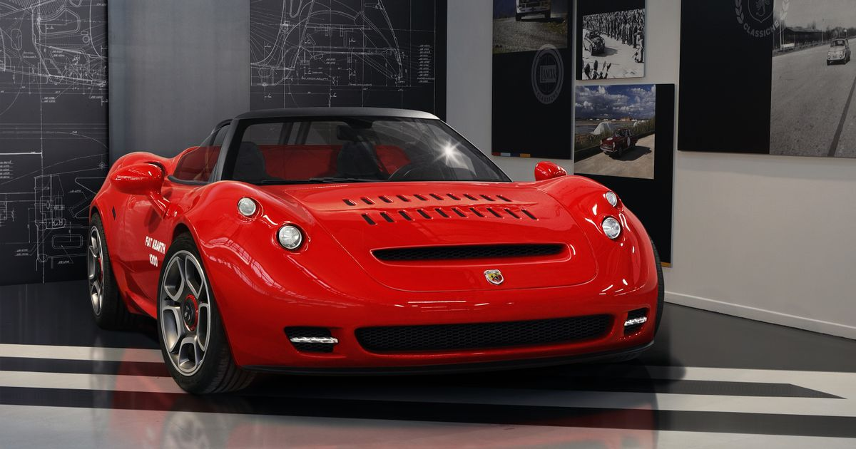 New One-Off Abarth 1000 SP Homage Is An Alfa Romeo 4C In A Retro Suit