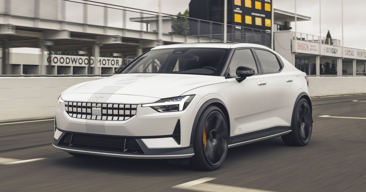 What's The Point Of This Lowered, 469bhp Polestar 2 Prototype?
