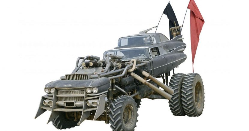 Fancy Buying A Collection Of Mad Max: Fury Road Vehicles?