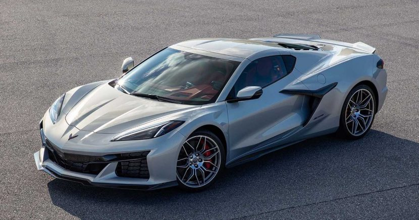 Your First Look At The Surprisingly Restrained C8 Chevrolet Corvette Z06